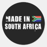Feito em África do Sul Adesivos Redondos