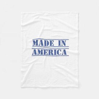 Feito em América - cobertura do bebê do marinho Cobertor De Lã