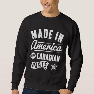 Feito em América com peças canadenses Moletom