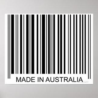 Feito em Austrália Poster