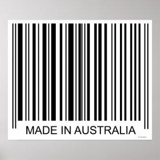 Feito em Austrália Pôster
