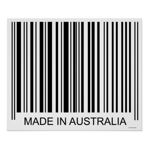 Feito em Austrália Posteres