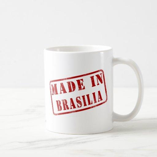 Feito em Brasília Caneca