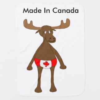Feito em Canadá Cobertor Para Bebe
