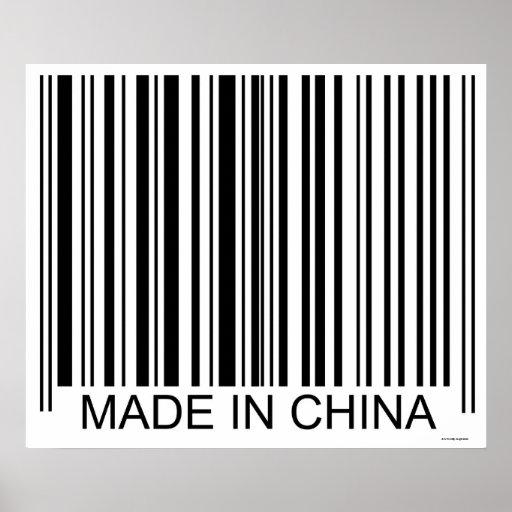 Feito em China Posteres