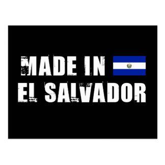 Feito em El Salvador Cartões Postais