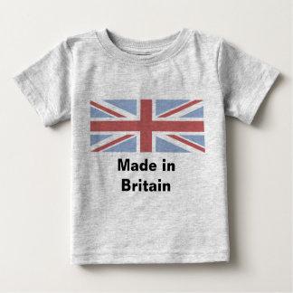 Feito em Grâ Bretanha - veste do bebê Camiseta Para Bebê