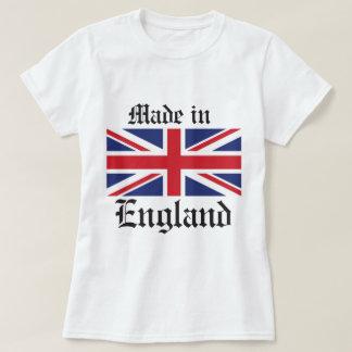 feito em Inglaterra, bandeira de Union Jack Camisetas