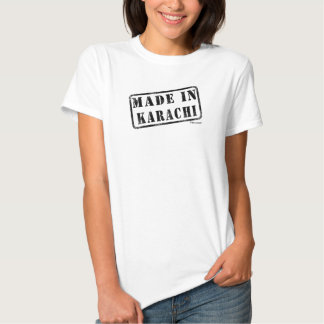 Feito em Karachi T-shirts