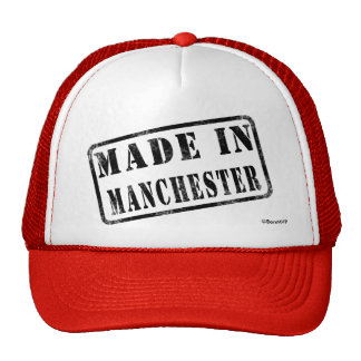 Feito em Manchester Boné