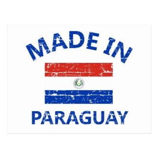 Feito em Paraguai Cartão Postal