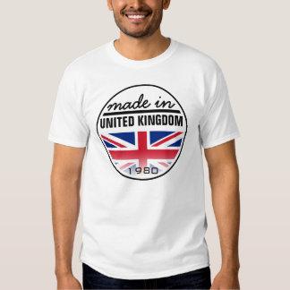 """Feito… em """"Reino Unido """" Tshirts"""