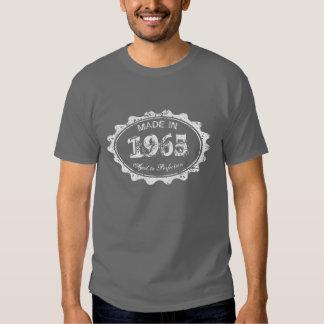 Feito envelhecido em 1965 à camisa do aniversário tshirts