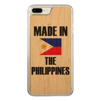 Feito na bandeira de Filipinas Capa iPhone 7 Plus Carved