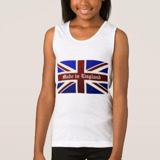 Feito na bandeira metálica de Inglaterra Union Regata