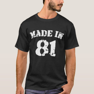 Feito na camisa 81