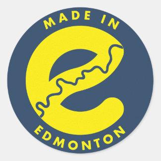 Feito na etiqueta de Edmonton