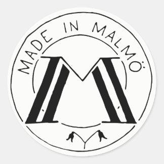 Feito na etiqueta de Malmö