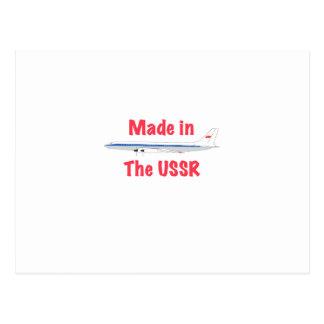 Feito na URSS Cartão Postal