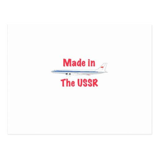 Feito na URSS Cartao Postal