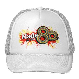 Feito no chapéu vermelho do splat do anos 80 boné
