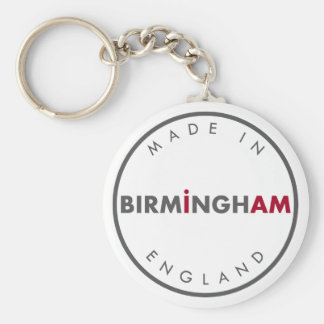 Feito no chaveiro de Birmingham