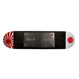 Feito no modelo preto de Japão Shape De Skate 18,1cm