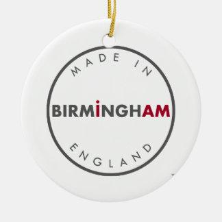 Feito no ornamento de Birmingham