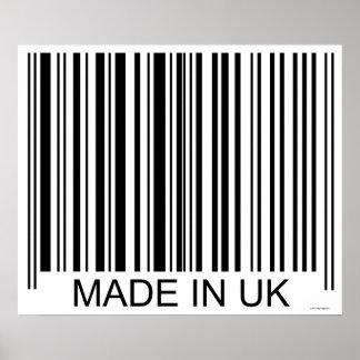 Feito no Reino Unido Poster