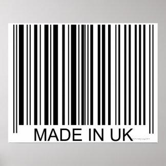 Feito no Reino Unido Pôster