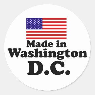 Feito no Washington DC Adesivo