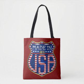 Feito nos EUA 4ns do logotipo americano orgulhoso Bolsa Tote