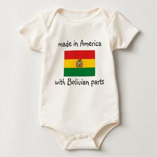 feito nos EUA com boliviano parte a camisa
