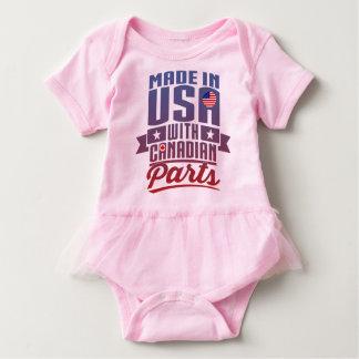 Feito nos EUA com peças canadenses Body Para Bebê