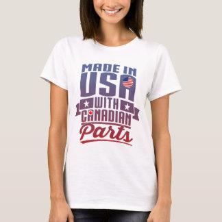 Feito nos EUA com peças canadenses Camiseta