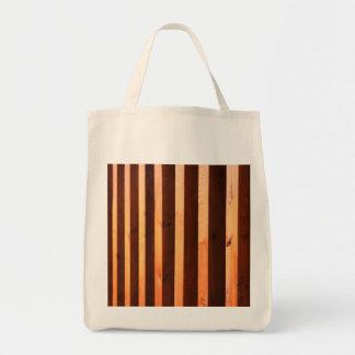 Feixes de madeira bolsa tote