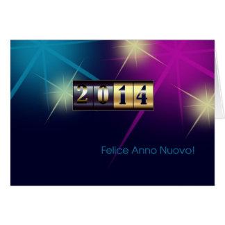 Felice Anno Nuovo 2014 Cartões italianos