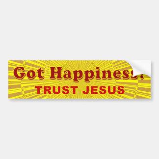 Felicidade obtida? adesivos