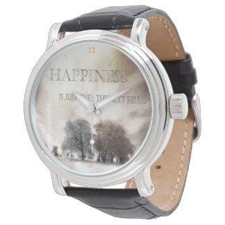 Felicidade Relógio De Pulso