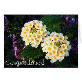 Felicitações! Cartão Comemorativo