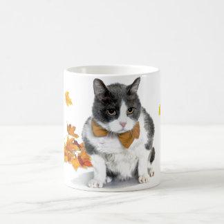 Felix: a caneca temático do gatinho novembro