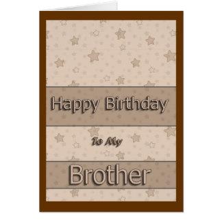Feliz aniversario a meu irmão cartoes