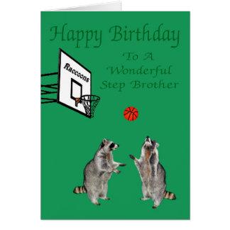 Feliz aniversario a pisar cartão do irmão