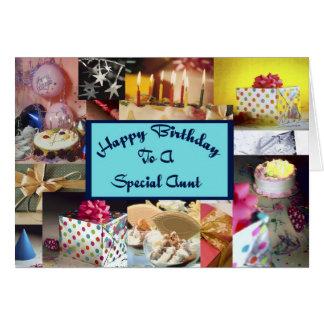 Feliz aniversario a uma tia especial cartões
