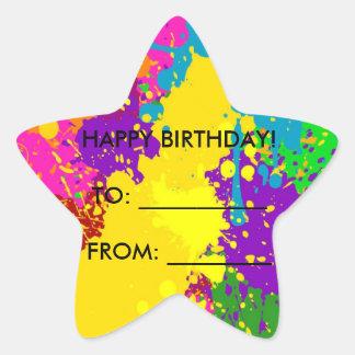 Feliz aniversario! adesito estrela
