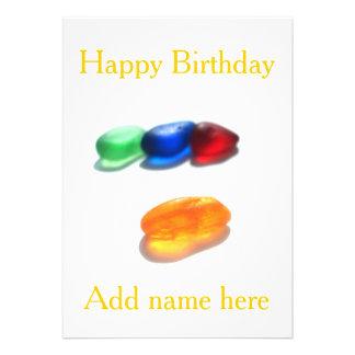 Feliz aniversario - adicione seu próprio nome