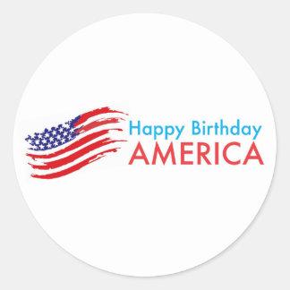 Feliz aniversario América Adesivo