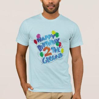 Feliz aniversario camiseta