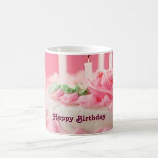 Feliz aniversario caneca de café