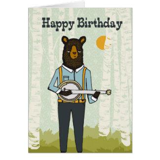 Feliz aniversario - carregue jogar o cartão de